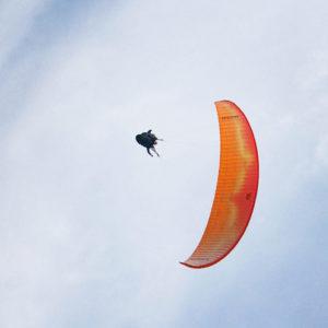 tandem parapente accrobatique