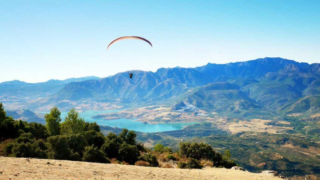 voyage parapente Andalousie